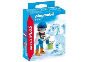 playmobil Künstlerin mit Eisskulptur 5374