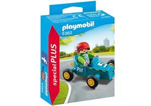 playmobil Junge mit Kart 5382A1