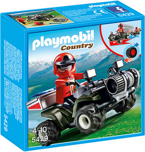 playmobil Bergrettungs-Quad 5429A1