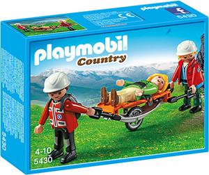 playmobil Bergretter mit Trage 5430A1