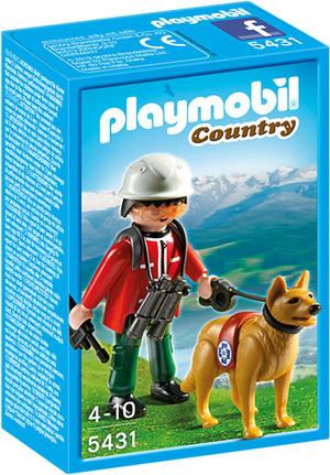 playmobil Bergretter mit Suchhund 5431A2