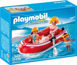 playmobil Urlauber mit Schlauchboot 5439