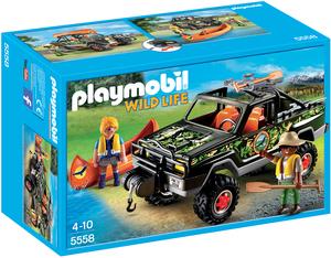 playmobil Abenteuer-Pickup 5558