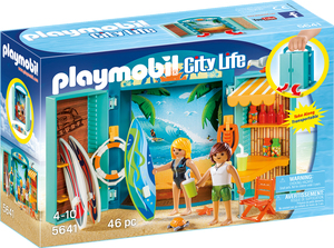 """playmobil Aufklapp-Spiel-Box """"Surf Shop"""" 5641"""