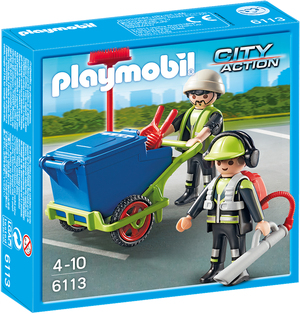 playmobil playmobil Stadtreinigungs-Team 6113A2