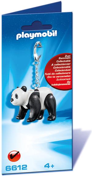 playmobil playmobil Schlüsselanhänger Panda 6612