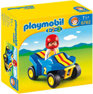 playmobil Rennfahrer mit Quad 6782