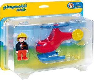 playmobil Feuerwehrheli 6789