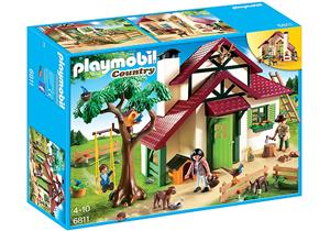 playmobil Forsthaus 6811A1