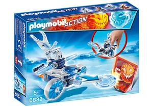 playmobil Frosty mit Disc-Shooter 6832A1