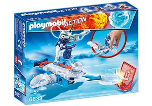 playmobil Icebot mit Disc-Shooter 6833