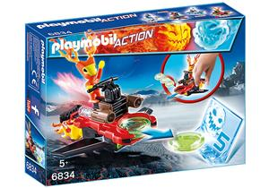 playmobil Sparky mit Disc-Shooter 6834A1