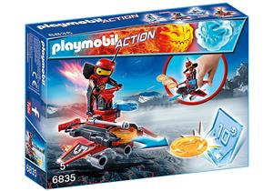playmobil Firebot mit Disc-Shooter 6835