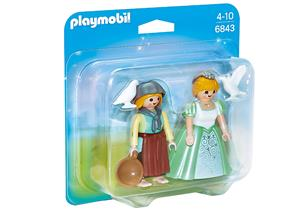 playmobil Duo Pack Prinzessin und Magd 6843A1