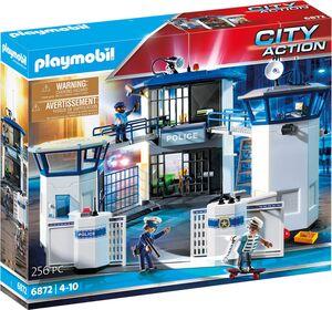 playmobil Polizei-Kommandozentrale mit Gefängnis 6872A1