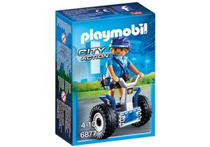 playmobil Polizistin mit Balance-Racer 6877