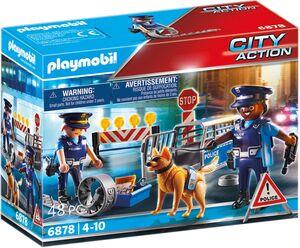 playmobil Polizei-Strassensperre 6878