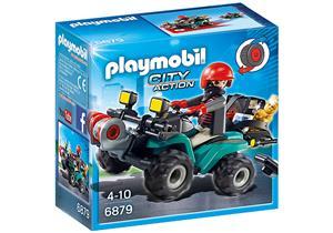 playmobil Ganoven-Quad mit Seilwinde 6879