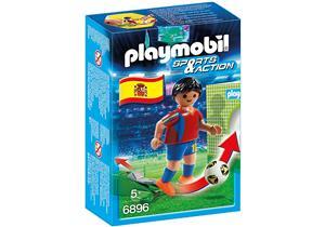 playmobil Fussballspieler Spanien 6896A1