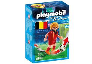 playmobil Fussballspieler Belgien 6897A1