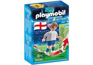 playmobil Fussballspieler England 6898A1