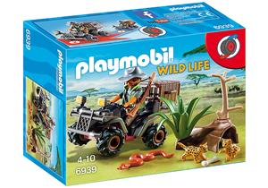 playmobil Wilderer mit Quad 6939