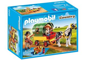 playmobil Ausflug mit Ponywagen 6948A3