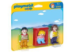 playmobil Eltern mit Babywiege 6966