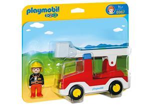 playmobil Feuerwehrleiterfahrzeug 6967
