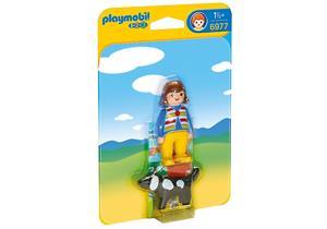 playmobil Bauer mit Kuh 6972