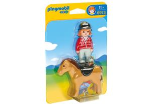 playmobil Reiterin mit Pferd 6973