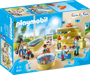 playmobil Aquarium-Shop