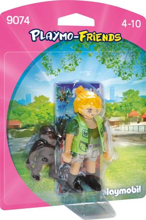 playmobil Tierpflegerin mit Gorillababy 9074