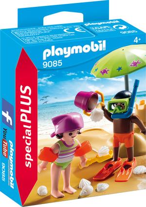 playmobil Kids mit Sandburg 9085