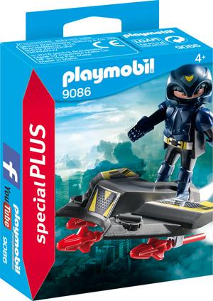 playmobil Sky Knight mit Fluggleiter 9086
