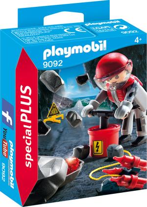 playmobil Felssprengung 9092A1