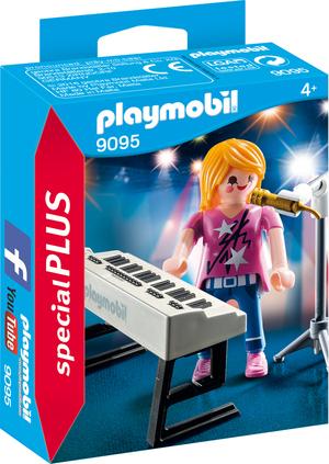 playmobil Sängerin am Keyboard 9095A1