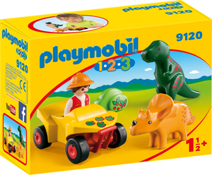 playmobil Dinoforscher mit Quad 9120