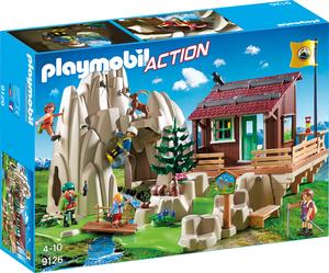 playmobil Kletterfels mit Berghütte 9126
