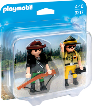 playmobil Duo Pack Ranger und Wilddieb 9217