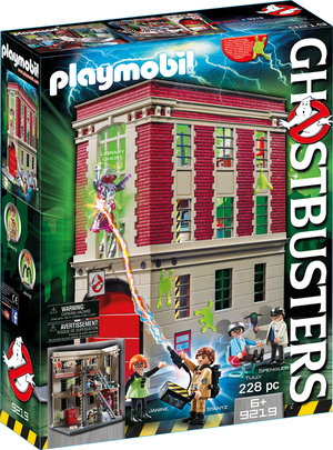 playmobil Ghostbusters Feuerwache 9219A1