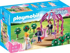 playmobil Hochzeitspavillon mit Brautpaar