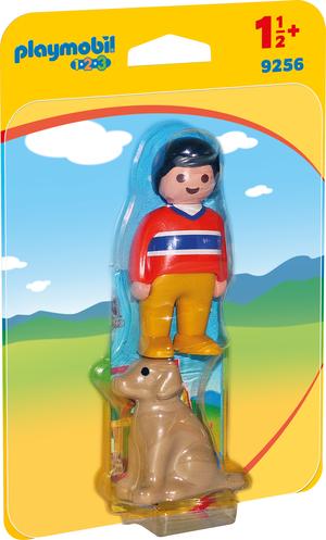 playmobil Mann mit Hund 9256