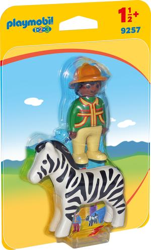 playmobil Ranger mit Zebra 9257