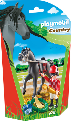playmobil Jockey 9261A1