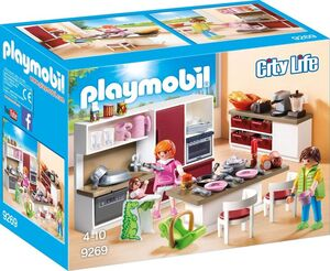 playmobil Grosse Familienküche 9269A1