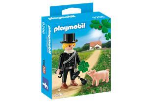 playmobil Schornsteinfeger mit Glücksschweinchen