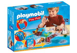 playmobil Play Map Piraten 9328A1