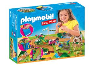 playmobil Play Map Ponyausflug 9331A1