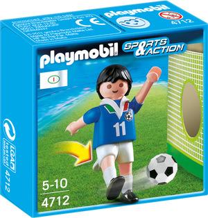 playmobil Fussballspieler Italien 4712